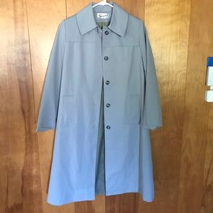 Vintage | Baby Blue Trench Coat